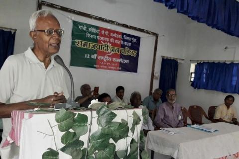 Imprisoned elderly Jesuit defended indigenous land rights in India