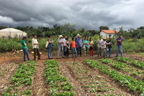 Trabalho de campo do projeto Transição Produtiva e Serviços Ambientais, da Embrapa Cerrados Luciano Mattos