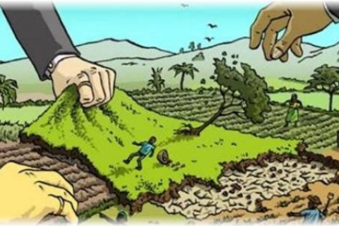 Land grabbing and forced deportation of farmers increased during the lockdown for Covid-19