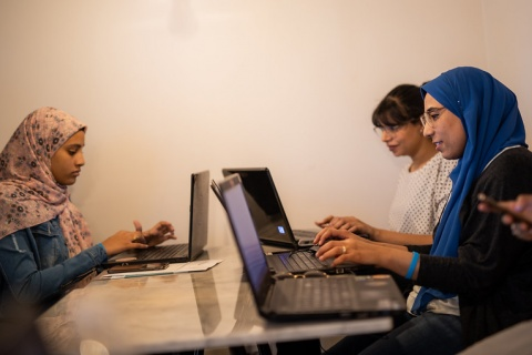 Egypt - HerStory Digital Inclusion Week, photo by UN Women/Emad Karim, CC BY-NC-ND 2.0 license