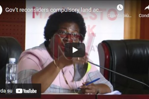 Gov't reconsiders compulsory land acquisition
