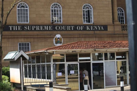 The Supreme Court building. FILE PHOTO | NMG