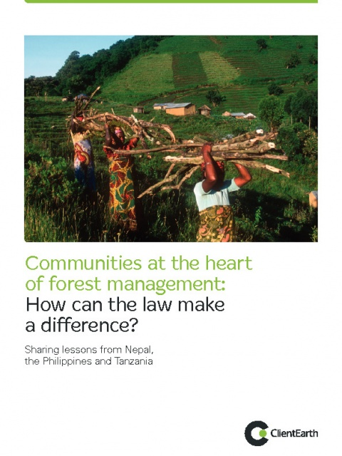 Communities at the heart of forest management
