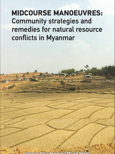 Cover photo of Myanmar land use report