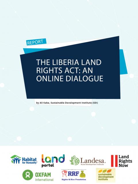 Liberia Land Rights Act