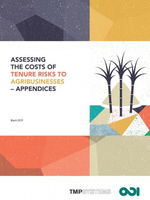 QTR report appendices - cover