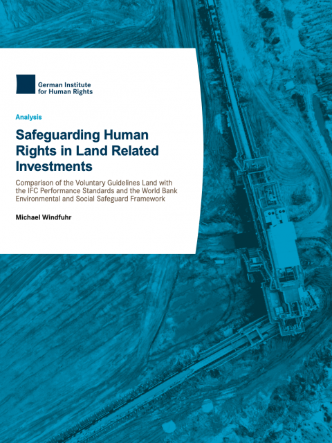 Safeguarding Human Rights in Land Related Investments cover image