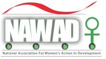 National Association for Women's Action in Development logo