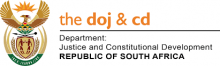 Department of Justice and Constitutional Development logo