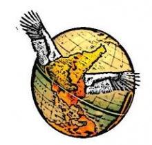 Upside Down World logo